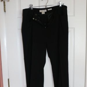 Michael Kors black dress pant
